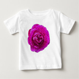 Fractured Rose Pink Baby T-Shirt
