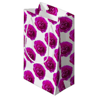 Fractured Rose Pink Small Gift Bag