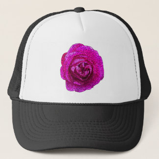 Fractured Rose Pink Trucker Hat