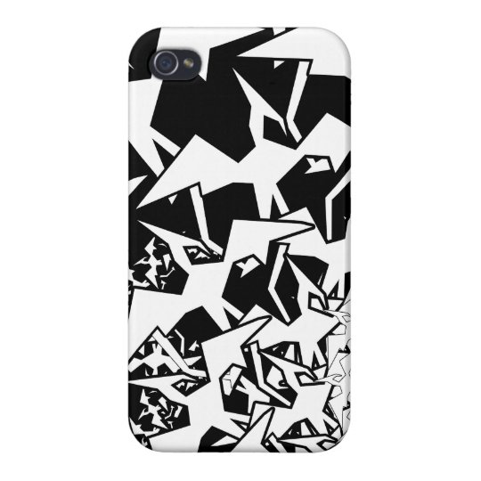 Fractyl Pterodactyl iPhone 4/4S Cases