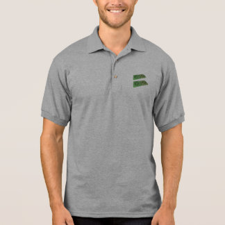 Frag as Fr Francium and Ag Silver Polo Shirt