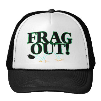 Frag Out Trucker Hat