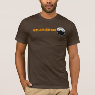 FraggedNation.com Logo and Text T-Shirt