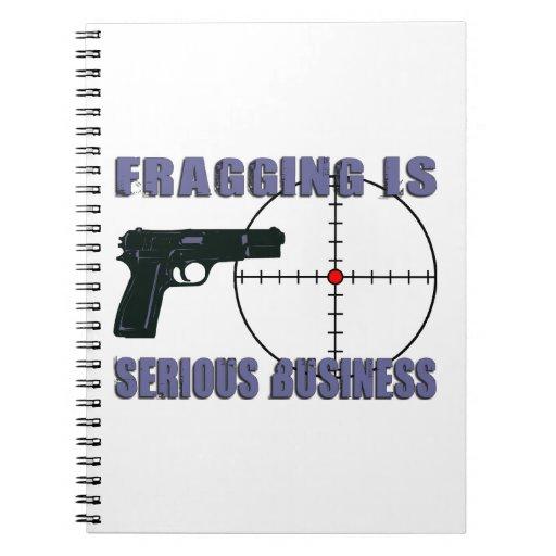 Fragging est des affaires sérieuses carnet
