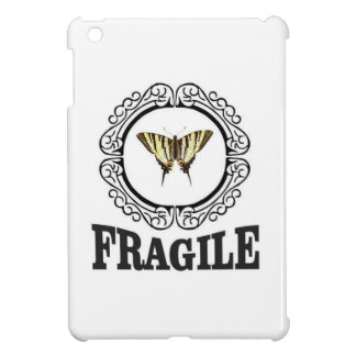 Fragile butterfly sticker cover for the iPad mini