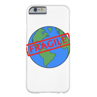 Fragile Earth iPhone Case
