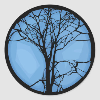 Fragile Ecosystem Classic Round Sticker