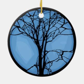 Fragile Ecosystem Round Ceramic Ornament