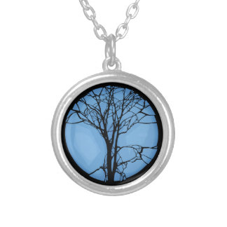 Fragile Ecosystem Silver Plated Necklace