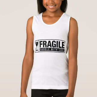 Fragile Handle With Care Tank Top