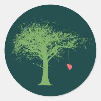 Fragile Heart Sticker