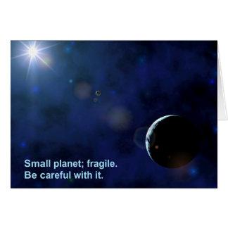 Fragile Planet Card