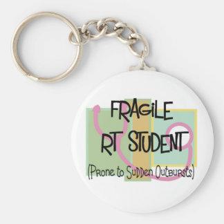 fragile RT Student Keychain