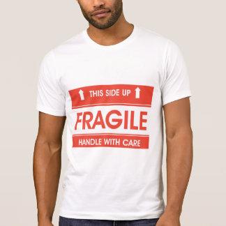 Fragile Sign Mens T-Shirt