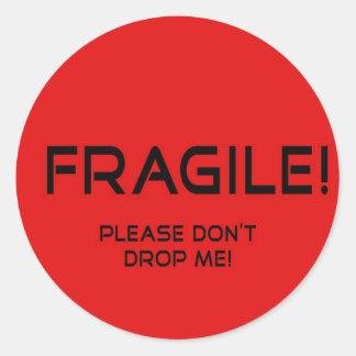 Fragile Sticker for valuable merchandise