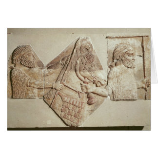 Fragment of a depicting Median tributaries Card