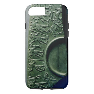 Fragment of a palette with a hunting scene, from A iPhone 7 Case