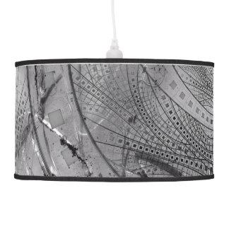 Fragmented Fractal Memories and Shattered Glass Pendant Lamp