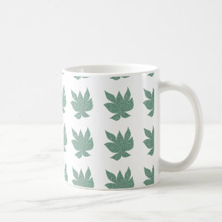 Fragmented Leaf Mug