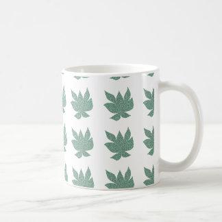Fragmented Leaf Mug