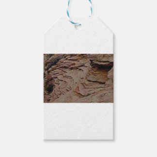 fragments chips in rock gift tags