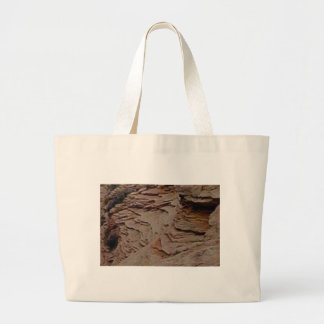 fragments chips in rock large tote bag