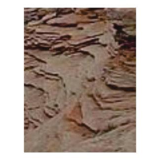 fragments chips in rock letterhead