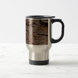 fragments chips in rock travel mug