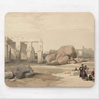 Fragments of the Great Colossus at The Memnonium, Mouse Pad