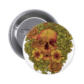 Fragrant dead 2 inch round button