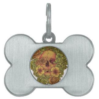 Fragrant dead pet ID tags