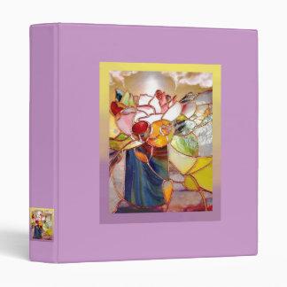 Fragrant Flower Lovely Baby Shower Album Vinyl Binders