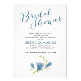 Fragrant Freesia Petals | Bridal Shower Card