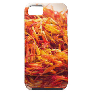 Fragrant saffron close-up iPhone 5 covers