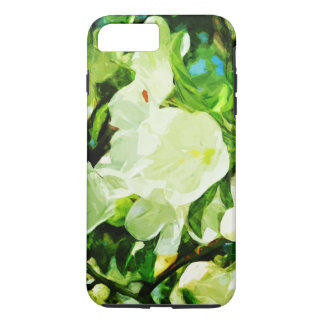 Fragrant Spring Apple Blossoms Abstract Impression iPhone 7 Plus Case