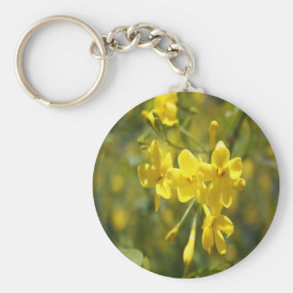 Fragrant Yellow Flowers Of Carolina Jasmine Keychain