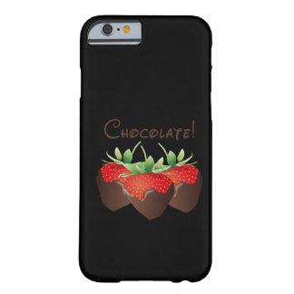 Fraise de chocolat coque iPhone 6 barely there