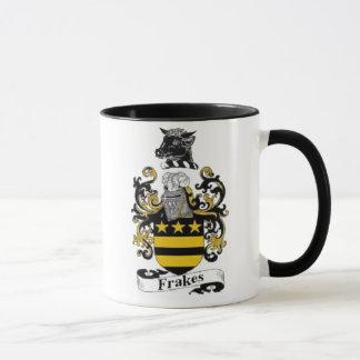 Frakes Coat of Arms Mug Black Handle