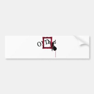 frame a goat bumper sticker