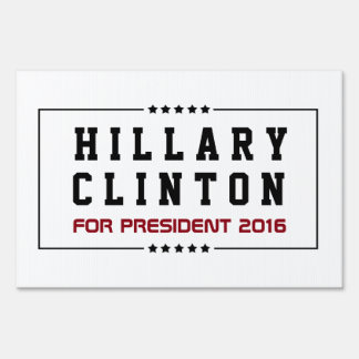 Frame  and Stars Hillary Clinton 2016 Election