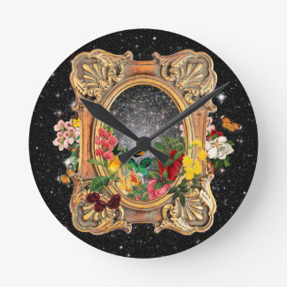 Frame of Life Round Clock