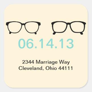Frame The Date Sticker