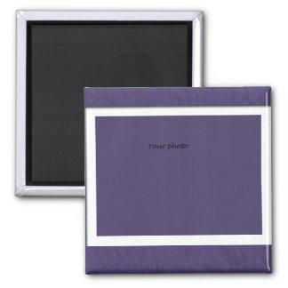 Frame w/purple magnet