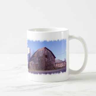 Framed Barn coffee Mug