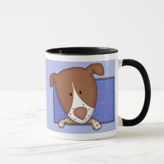 Framed Cartoon German Shorthaired Pointer Mug