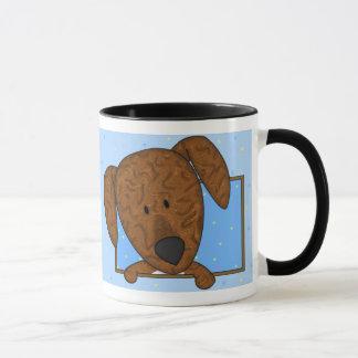 Framed Cartoon Plott Hound Mug