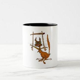 Framed Cat Coffee Mug