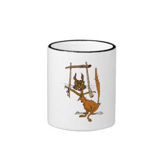 Framed Cat Coffee Mugs