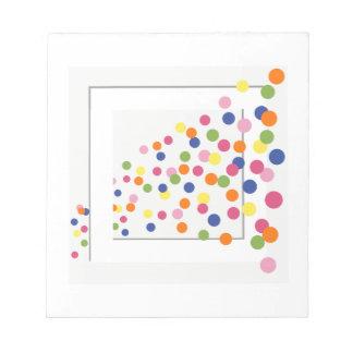 Framed Circles Notepad