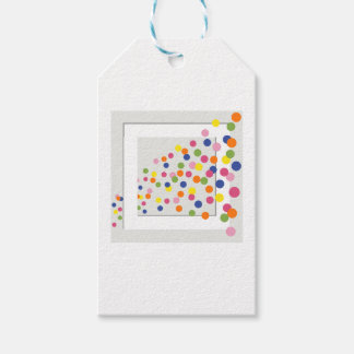 Framed Circles Pack Of Gift Tags
